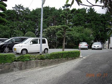 駐車場の写真その3